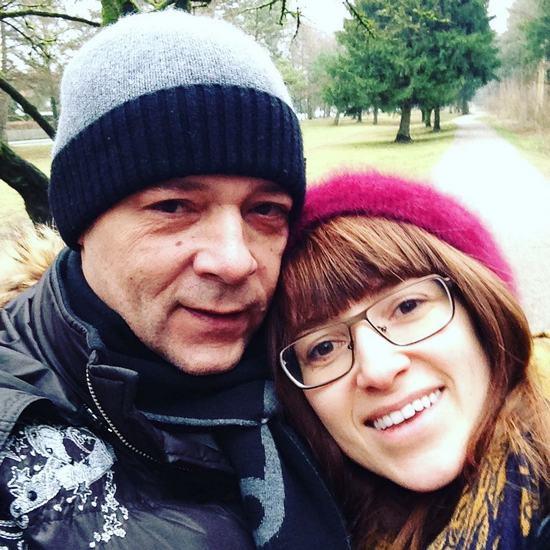 Вадим Казаченко с дочерью Марианной