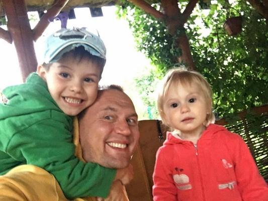 Степан Меньщиков и его дети