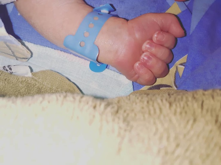 Малыш родился здоровым
