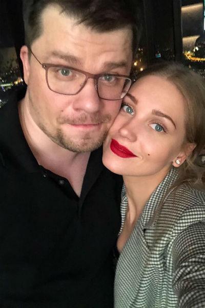 Гарик Харламов и Кристина Асмус