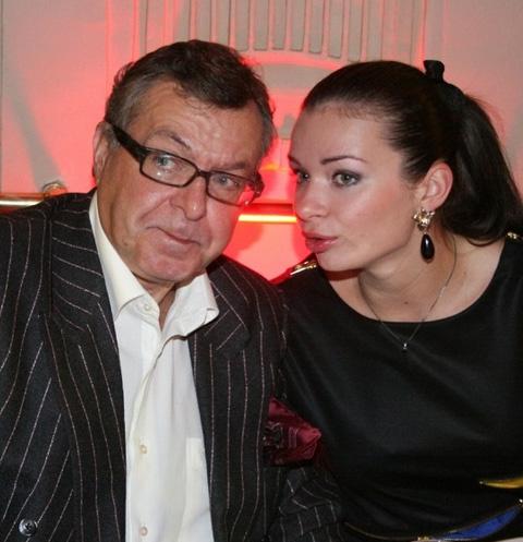 Андрей Ургант и Елена Романова