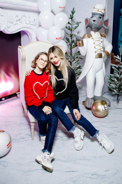 Белла Потемкина с дочерью