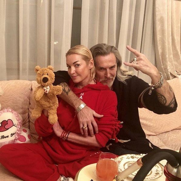 Анастасия Волочкова и Никита Джигурда