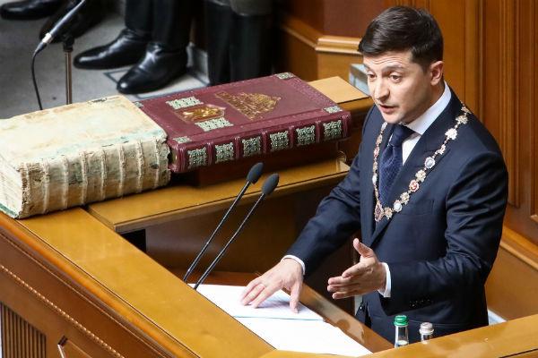 Инаугурация избранного президента в Киеве