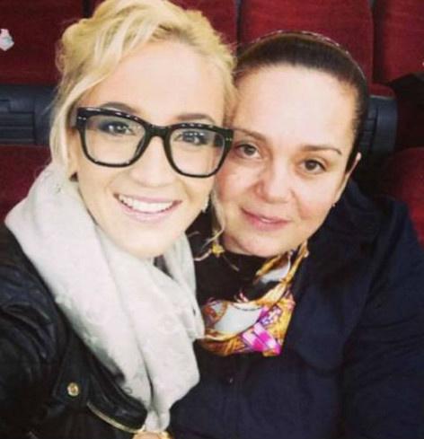 Ольга близка с мамой