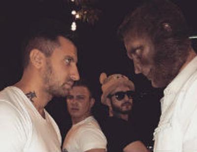 Рэпер T-Killah и Амиран Сардаров записали трек с живыми обезьянами