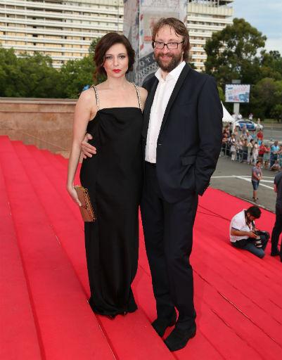 Алиса Хазанова и ее супруг Давид Бауманн
