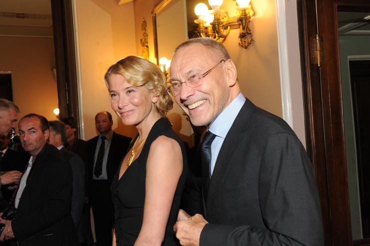 Андрей Кончаловский и Юлия Высоцкая более 20 лет вместе