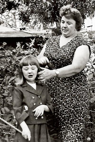 Мария воспитывалась бабушкой