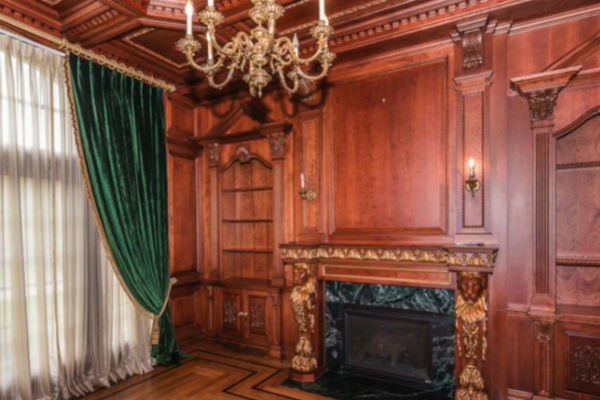 При строительстве дома использовались самые дорогостоящие материалы