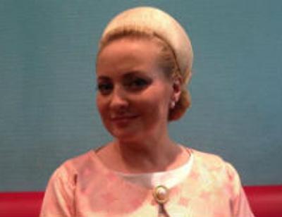 Светлана Пермякова примерила образ первой леди