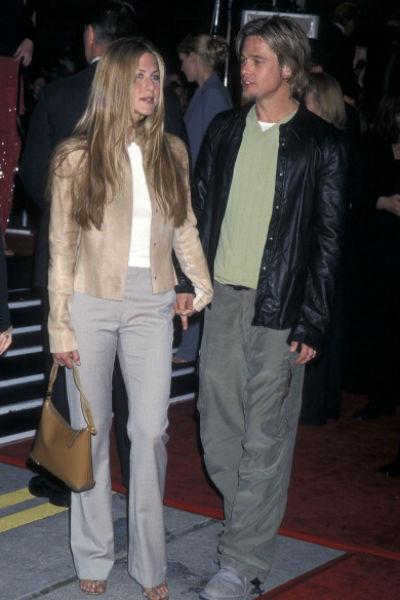 Брэд и Дженнифер расстались в 2005 году после пяти лет брака