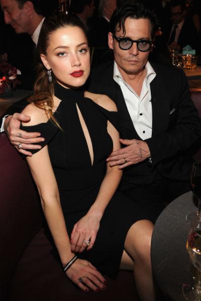 Джонни Депп познакомился с Эмбер Херд на съемках «Ромового дневника»