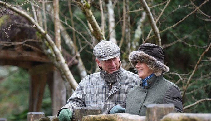 Принц Чарльз и Камилла отмечают десятую годовщину свадьбы