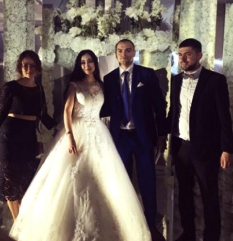 Свадьба дочери Елены Хахалевой