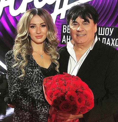 Александр Серов с дочерью