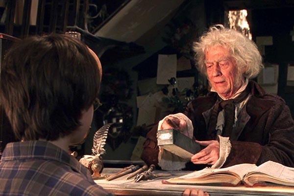 В сериале о Гарри Поттере Джон Херт сыграл мистера Олливандера, владельца магазина волшебных палочек