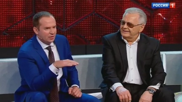 Юрий Антонов со своим адвокатом Сергеем Жориным