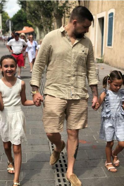 Рэпер обожает дочек и наслаждается общением с ними