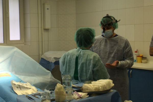 Операция по увеличению груди Александры Гозиас была проведена за 50 минут
