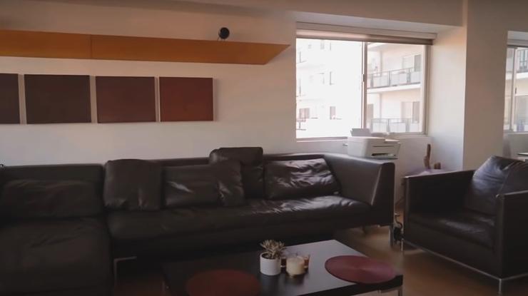 В апартаментах много пространства