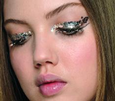 Две идеи для новогоднего макияжа