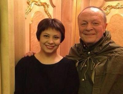 70-летний Борис Галкин крестил восьмимесячную дочь