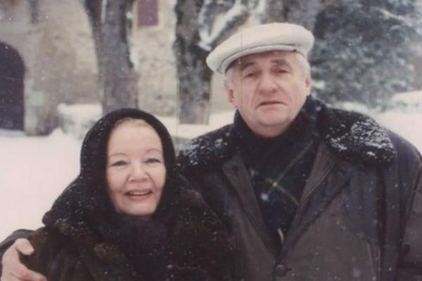 С женой Ниной