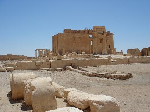 Развалины Пальмиры считаются одними из лучших образцов древнеримской архитектуры