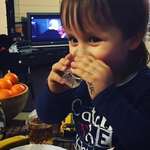 Старшему ребенку Дмитрия уже два года