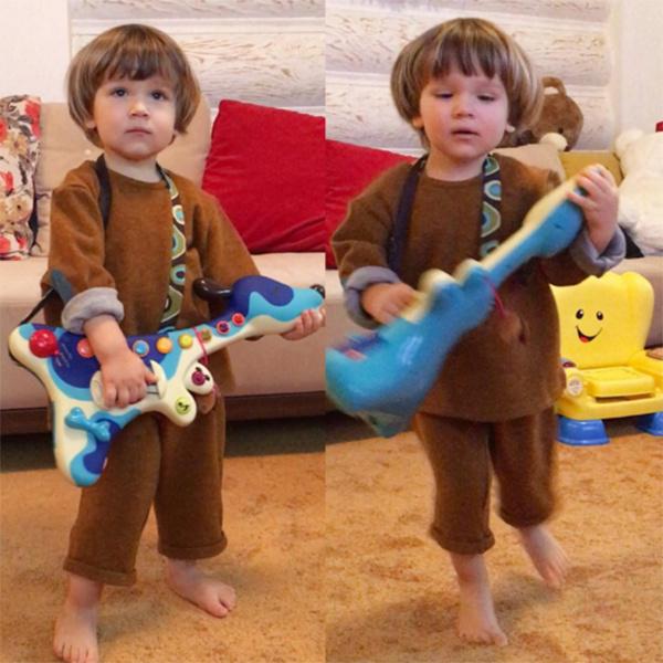 Старший сын Марии Кожевниковой Ваня устраивает дома настоящие концерты