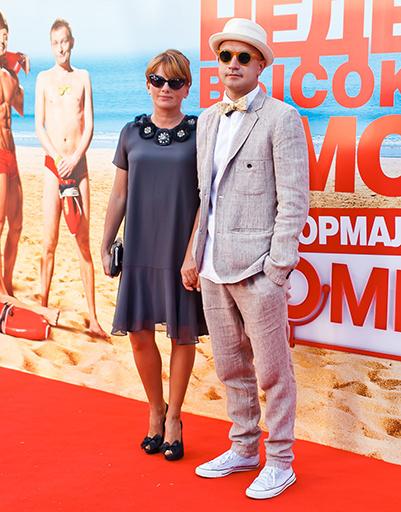 Егор Дружинин с супругой Вероникой