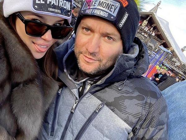 Илья и его жена в Куршевеле
