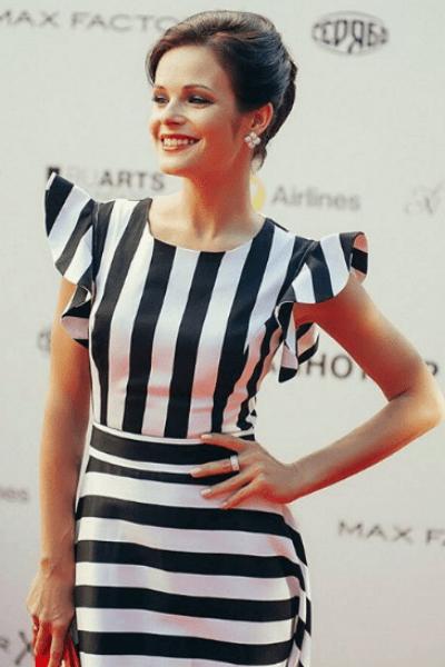 Анна Пескова на закрытии «Кинотавра»