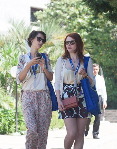 Подруги Екатерина Вуличенко и Анастасия Цветаева исправно посещали все кинопоказы