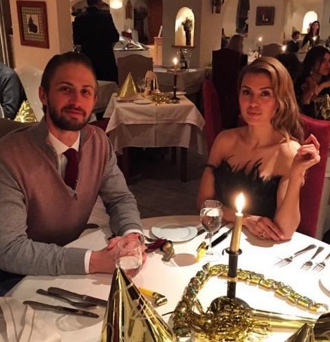 Александр Смерфит и Виктория Боня