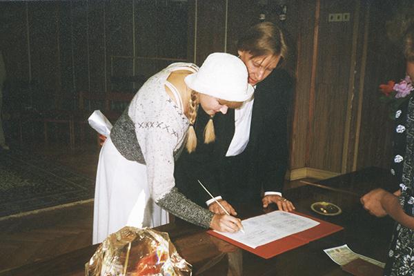 В загс с Мариной Майко Харатьян не спешил