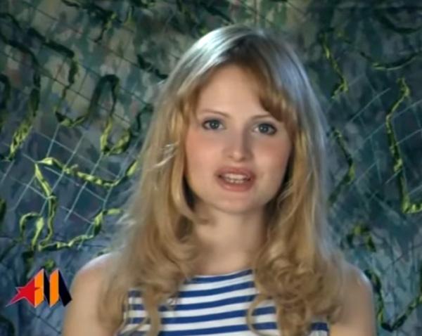 Дана Борисова появлялась в эфирах в тельняшке