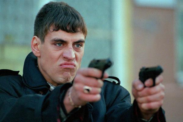 Дмитрий часто играет в кино злодеев