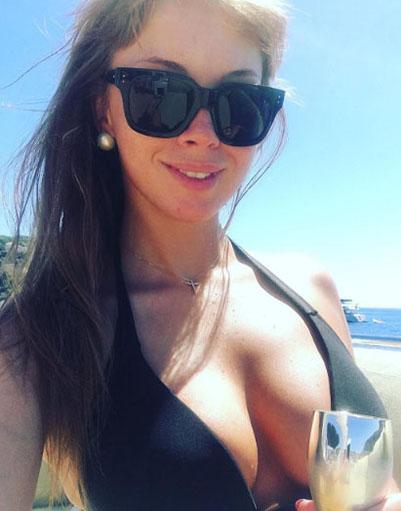 Полина Диброва в Монако