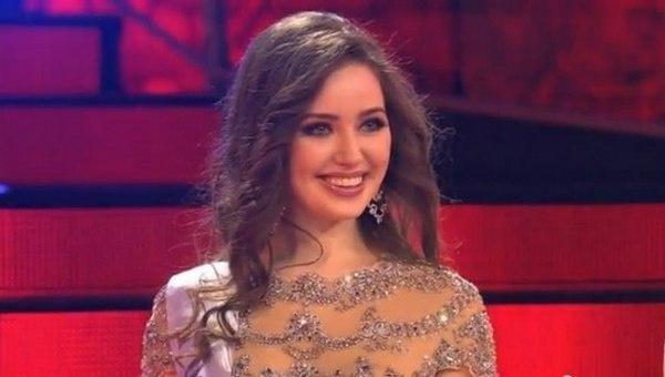 Затем Анастасия отправилась представлять Россию на конкурсе «Мисс мира»