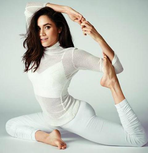 Меган Маркл посетила йога-центр в Нью-Йорке