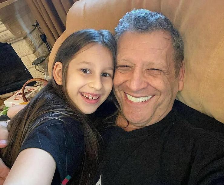 Борис Грачевский с дочерью Василисой