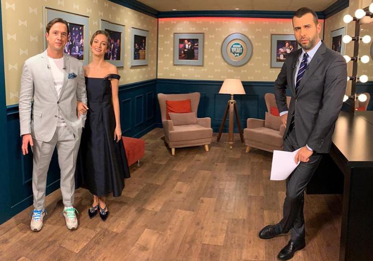 Егор и Полина в программе «Вечерний Ургант»