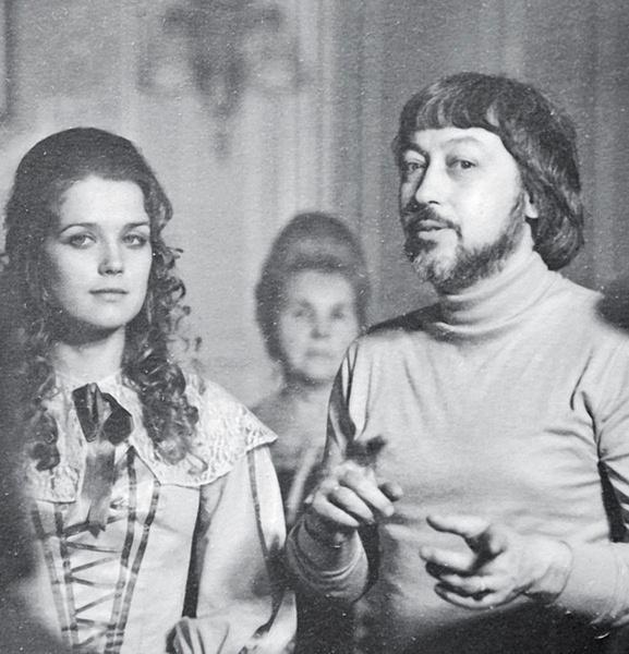 Ирина Алферова с трудом сохраняла спокойствие, слушая критику режиссера