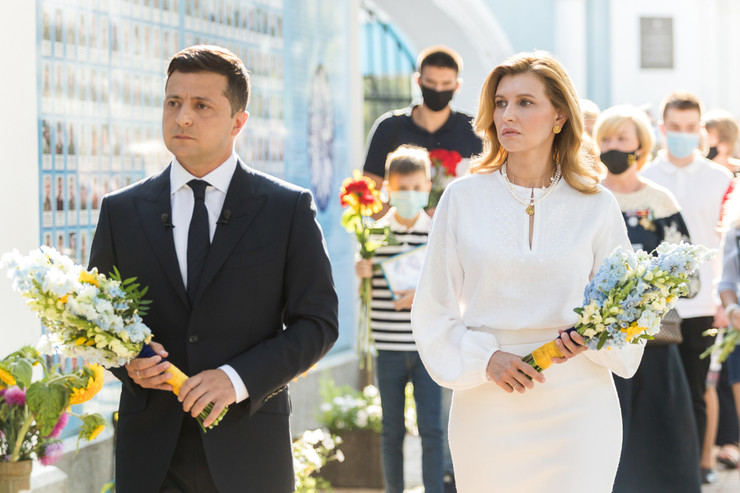 Владимир и Елена Зеленские женаты с 2003 года