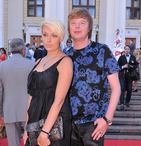 Андрей Григорьев-Апполонов с бывшей супругой
