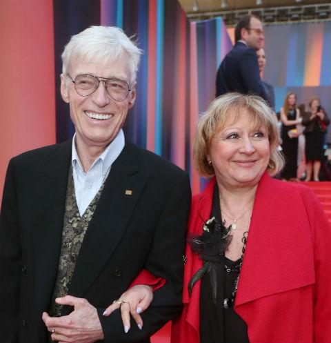 Борис Щербаков с супругой