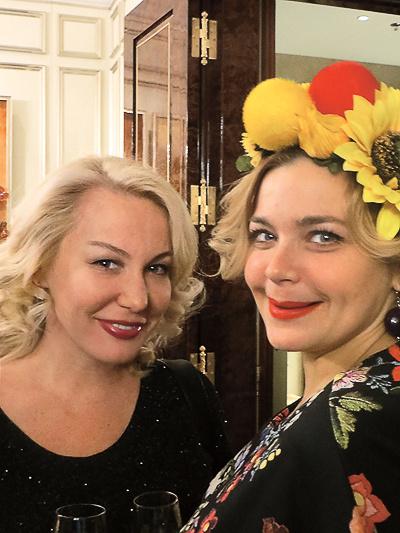 Юлия Пузырева и Ирина Пегова