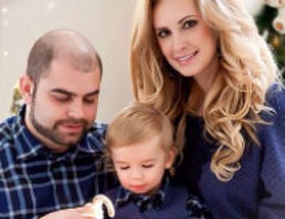 Ольга и Илья Гажиенко устроили вечеринку для двухлетнего сына